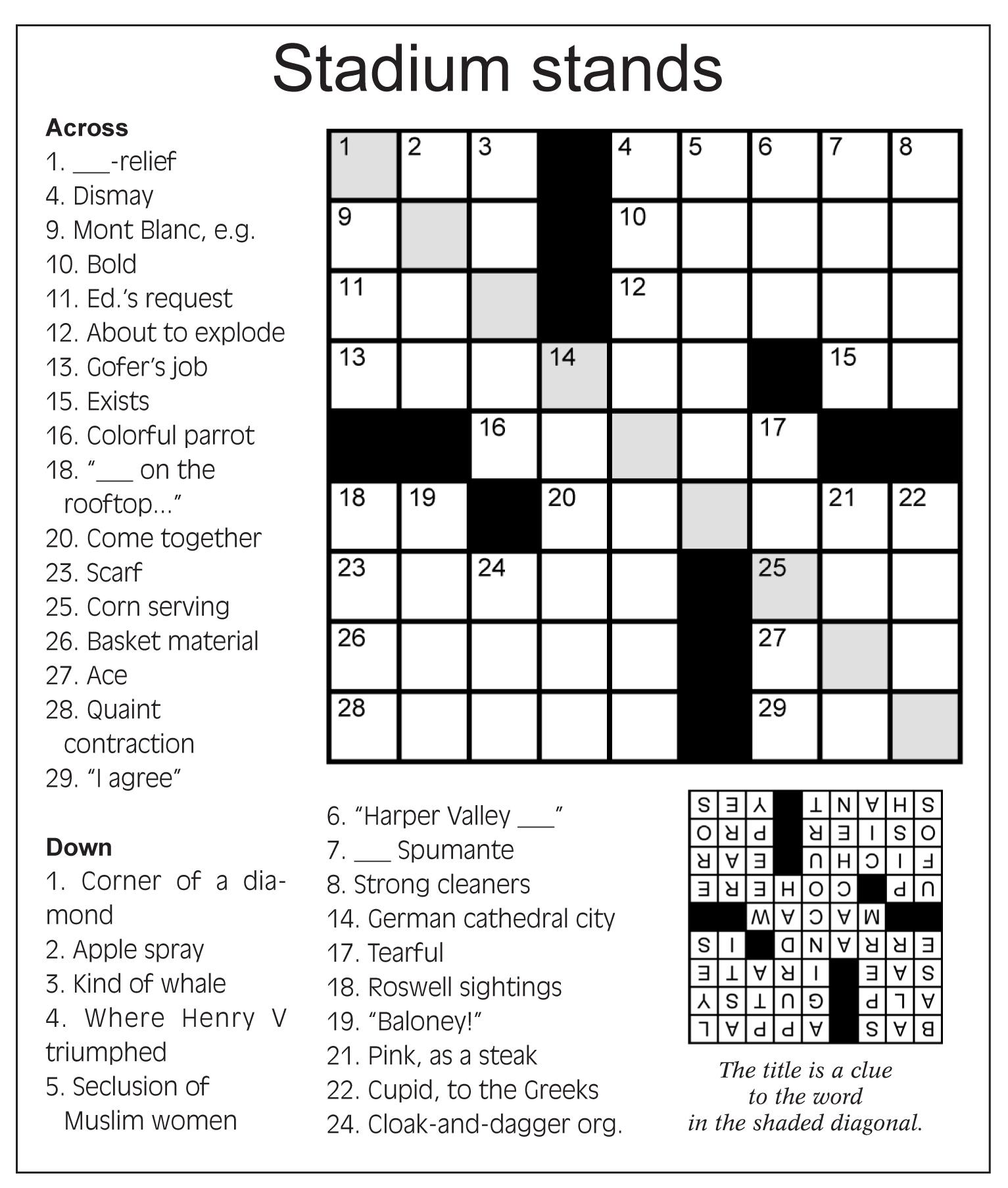 crossword the guardian pets world