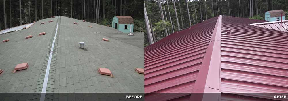 Metal Roofing By Guardian Roofing In Seattle