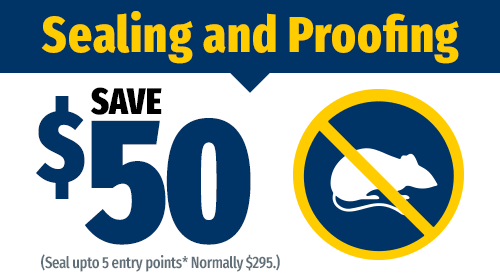 $50 Off Sealing and Proofing
