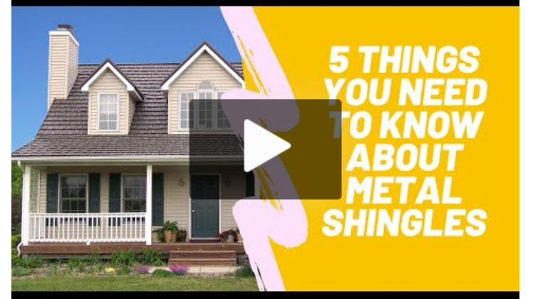 5 Things You Need to Know About Metal Shingles