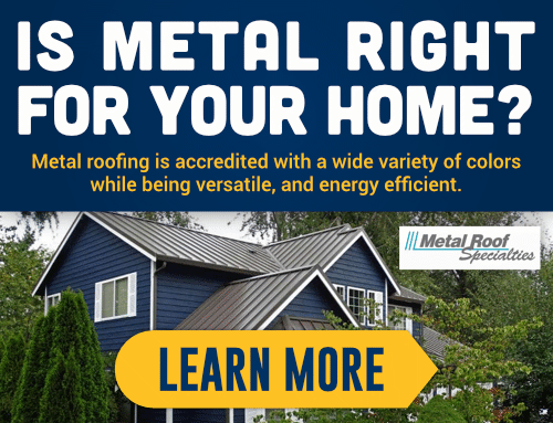 Is Metal Roofing Right For Your Home?