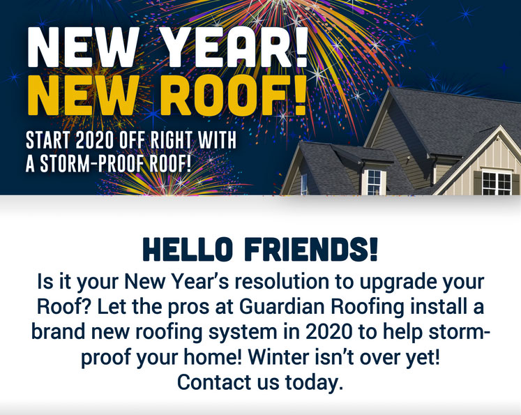 Happy New Year from the Team here at Guardian Roofing & Pest Control!