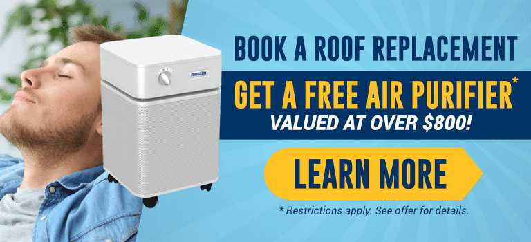 Roof Replacement Air Purifier Special (Update)