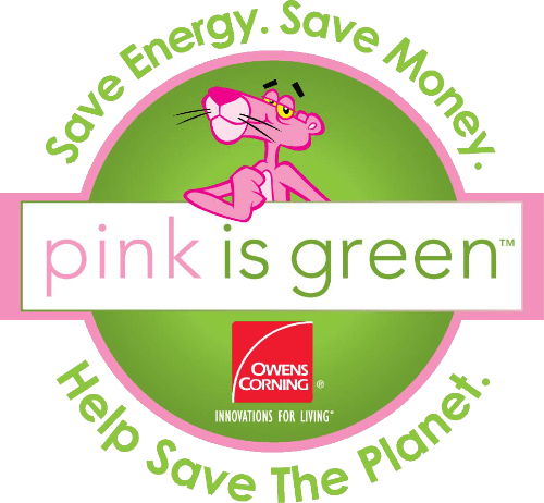 Owens Corning Pink Is Green