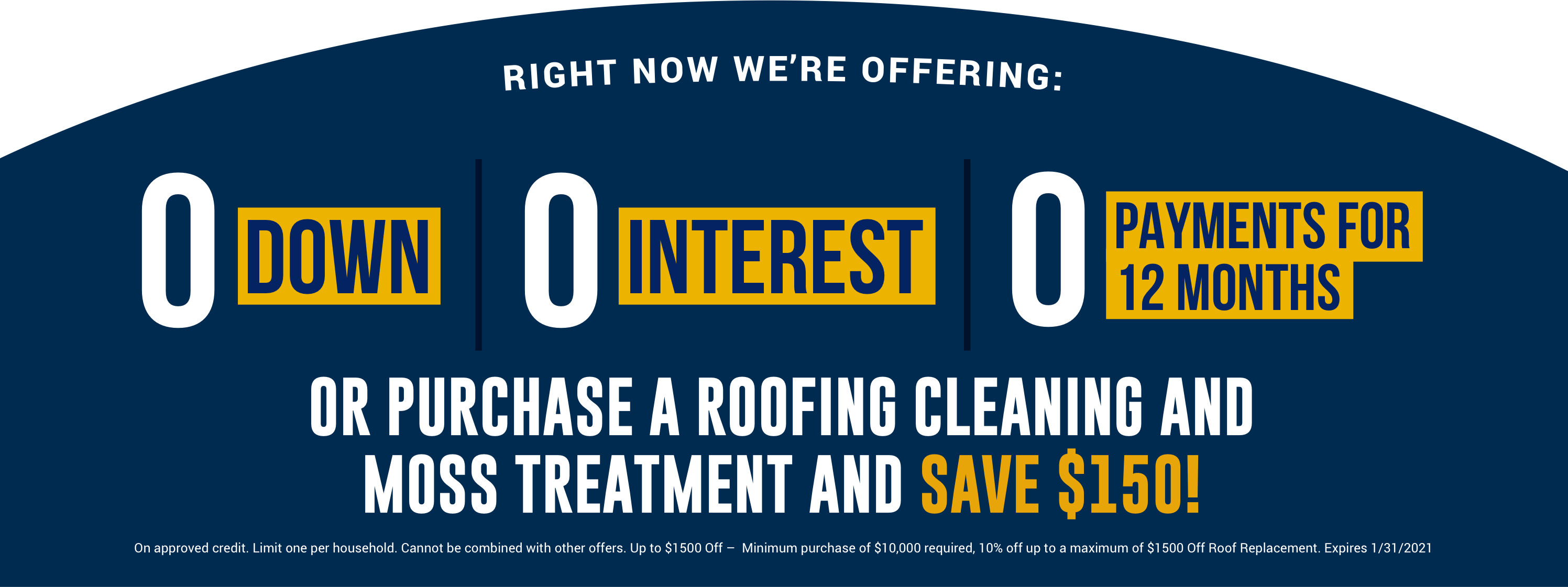 Roofing Special Offer, Roof Cleaning & Moss Treatment