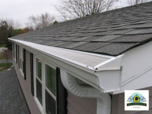 Gutter Guard Covers Seattle - Side View