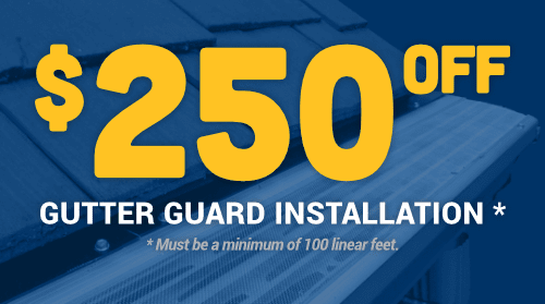 $250 Off Gutter Guard Installation
